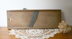 Vintage Antique Wooden Cabbage Slicer by TheHeirloomShoppe on Etsy