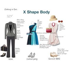 Body Shapes by ss-mallen on Polyvore featuring Quiksilver, Max and Cleo, Dorothy…