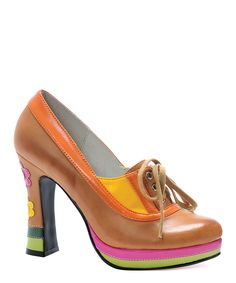 Take a look at this Tan Farout Pump on zulily today!