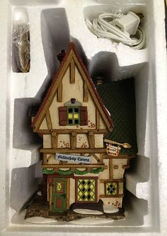 Vintage Dept 56 Dickens Village Series The Melancholy Tavern Christmas House NEW