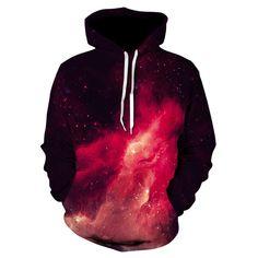 Buy Galaxy Sweatshirts Men/Women Hoodies With Hat Print Stars Nebula Autumn Winter Loose Thin Hooded Hoody Tops plus size Printed Sweatshirts, Mens Sweatshirts, Hoodies, Fashion Sweatshirts, Streetwear Hats, Galaxy Sweatshirt, Tracksuit Jacket, Yellow Hoodie, Pullover