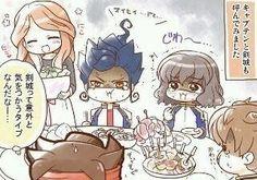 Inazuma Eleven Et Go Fanarts Cuisine