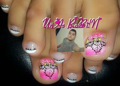 Pedicure Nails, Nailart, Hair Beauty, Persona, Robin, Instagram Posts, Gold Nail Art, Pretty Toe Nails, Toe Nail Art
