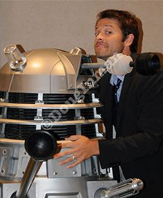 Misha and a Dalek. I cannot handle this.
