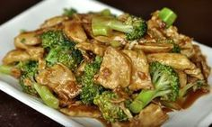 Wok Cooking Stir-fry Chicken with Broccoli Recipe / World of Flavor - The Best Chicken Recipes Chicken Broccoli Stir Fry, Easy Chicken Stir Fry, Fried Broccoli, Broccoli Recipes, Healthy Chicken, Fried Chicken, Broccoli Stems, Skinny Chicken, Broccoli Diet