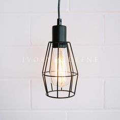 black-industrial-wire-pendant-light-detail
