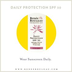Do you have a difficult time finding a sunscreen that doesn't break you out? Our Daily Protection is now BACK IN STOCK and is a favorite of those with acne-prone skin!   Have you tried this one yet > http://www.reneerouleau.com/DailyProtectionSPF30.aspx #summer #sun #protection #SPF #beauty
