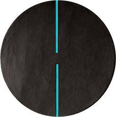 modernrugs.com light sonic round modern neon rug