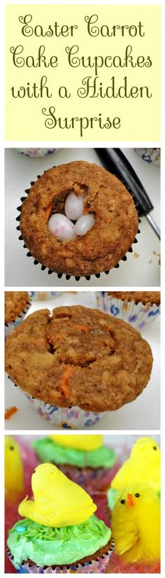 Easter Cupcakes with a Hidden Surprise - Recipes, Food and Cooking