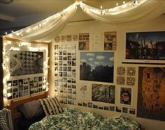 We love how this girl personalized her room!
