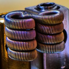 Double Barrel Fused Clapton @coilporn #coilporn…