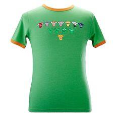 Navy Island Ringer Retro TS WM 2018 T-Shirt Trikot Look