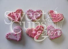 Cookies Corazón para el 1º Añito de Michelle
