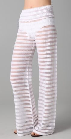 Gauze Beach Pants