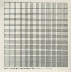 obsessedbythegrid: Sol Lewitt, The FieldWorker, 1975.