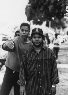 Cuban Gooding and Ice cube