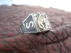 <3 Travis Stringer Silversmith Rings!