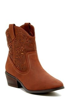 Saul Laser Cut Boot by Restricted on @HauteLook