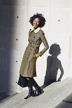 Naomi Beckwith Photographed by Tim Klein in Chicago Art Curator Likes Art, Dance, Music Listening to Nina Simone