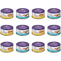 Wellness Signature Selects Natural Canned Grain-Free Wet Cat Food Variety Pack - 2.8 Oz. Each - 2 Flavors - Tuna and Shrimp and Chicken and Turkey (12 Pack Bundle) *** Check this awesome product by going to the link at the image. (This is an affiliate link and I receive a commission for the sales)