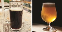 What are the differences between lagers and ales?