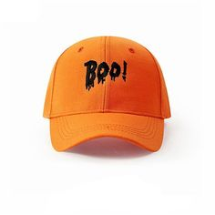 4fddf0cd43ee9 Boo Fashion Novelty Letter Embroidery Cap. Cotton Hat ...