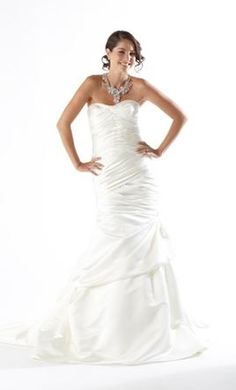 Kirstie Kelly Tiger Eye C1202, find it on PreOwnedWeddingDresses.com