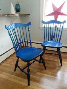 well scituated ombre chairs for our kitchen