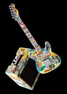 hot sale online 97818 458ee GUITAR- jA Guitar Painting, Guitar Art, Cool Guitar, Fender Telecaster,  Fender