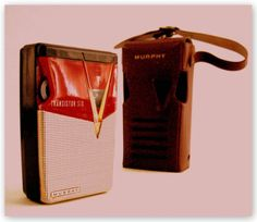 MURPHY P62 'TOSHIBA' - Focusing on the design of pocket transistor radios manufactured during the 1950's & 1960's!