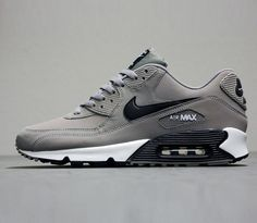 premium selection 828c1 204ec Nike Air Max 90 Grey-White-Black   Follow My SNEAKERS Board! Basket