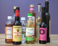 A Comprehensive Guide To All The Vinegars