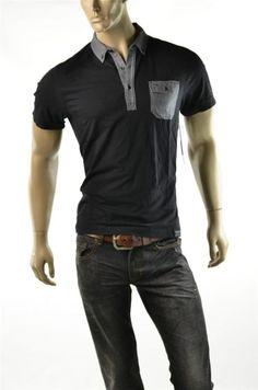 Calvin Klein Shirt Mens NWT Slim CK Knit 1 Pkt Polo T Shirts Sz M Medium New #CalvinKlein #PoloRugby