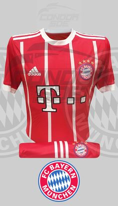 Excelente indumentaria de juego y entrenamiento del grande del fútbol Alemán, Bayer Múnich FC. #uniformes #camisetas #fútbol #bayermunich Bayer Munich Fc, Grande, Sports, Tops, Fashion, Game, Training, T Shirts, Hs Sports