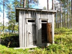 Kadonneen kulttuuriperinnön metsästäjät: Metsien vessat