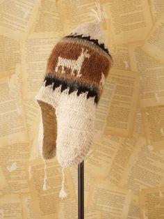 Vintage Wool Knit Hat