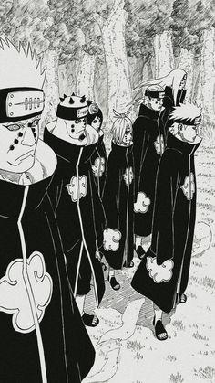 Akatsuki: Pain and Konan Anime Naruto, Manga Anime, Naruto Art, Manga Art, Madara Wallpaper, Wallpaper Naruto Shippuden, Naruto Shippuden Sasuke, Itachi Uchiha, Boruto