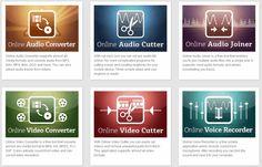 123apps se compone de una serie de herramientas online que nos facilitan la edición de Audio y Vídeo directamente desde el navegador.