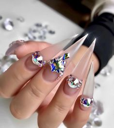 Coffin Nails Designs Trends Nail Art Ideas 2019 - Page 32 of 58 - hairstylesofwomens. Long Stiletto Nails, Toe Nails, Coffin Nails, Nail Nail, New Nail Designs, Acrylic Nail Designs, Acrylic Nails, Wedding Nails Design, Christmas Nail Art