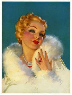 'Gorgeous' by Jules Erbit, 1930s