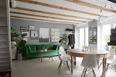 Decor Zone        • interior • home decor • decorating • living room • kitchen • bedroom          — gravityhome:   Scandinavian apartment   Follow...