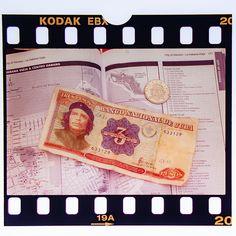 #cuba #karibik #caribbean #cheguevara #money #commandante #diapositiv #perforation #kodak Cuba, Che Guevara, Havana, Caribbean, Memories, Money, Souvenirs, Remember This, Kobe