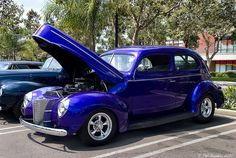 1940 Ford Deluxe Tudor - mod - dk met blue - fvl | Flickr - Photo Sharing!