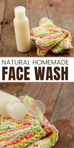 Best Homemade Face Wash with Aloe Vera. As you probably know, I'm a huge fan of aloe vera gel, and use it in my homemade body products every chance I get. Aloe acts as a non-greasy moisturizer treating dry, flaky skin. It also helps treat acne, and fights aging.