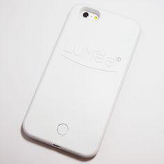 White LuMee Light Up Selfie Case for iPhone 6 Plus / iPhone 6S Plus