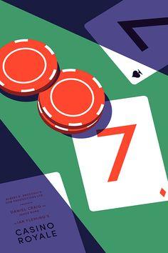 "Exploring @Behance: ""Casino Royale"" https://www.behance.net/gallery/31507143/Casino-Royale"
