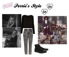 """Perrie's Style "" by xxjerriexx on Polyvore featuring Little Me, Converse, Topshop and River Island"
