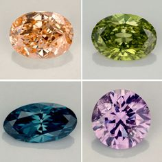 Diamonds in different colors. © Aurora Gems, New York. Fotos: Robert Weldon.