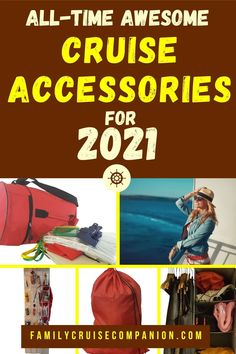 These simple cruise accessories can help your family stay comfortable, organized, and happy on your cruise vacation! We have used these cruise accessories time and time again across dozens of family cruises. Don't finish packing before checking this list! (Updated for 2021) Top Cruise, Cruise Tips, Cruise Vacation, Travel With Kids, Family Travel, Family Cruise, Cruises, Packing, Simple