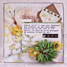 Triple the Scraps: {Glory Art} Scripture Challenge for 2015